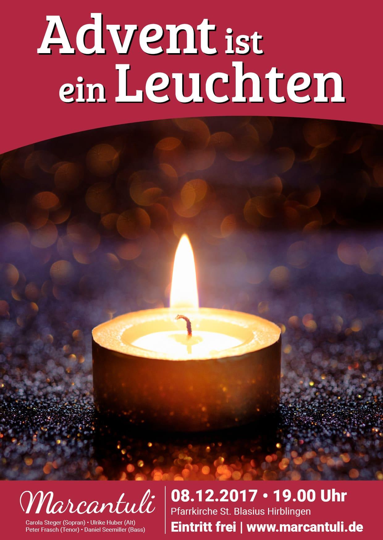 Marcantuli - Advent ist ein Leuchten