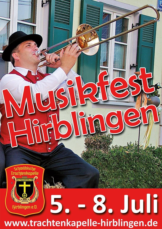 Plakat Trachtenkapelle Hirblingen